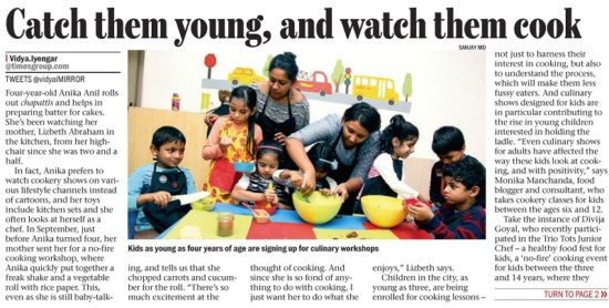 Bangalore Mirror-Pg 1- December 19-2016-Bangalore