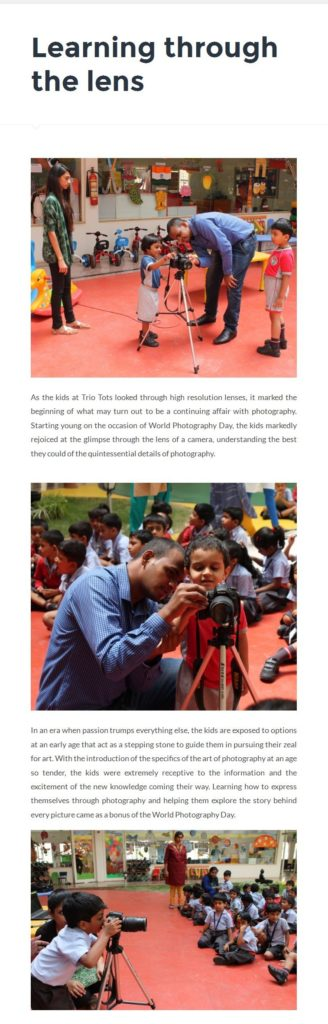 Learning-through-the-lens